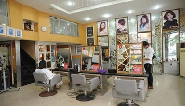 企叮咚助力美发店做营销案列图片